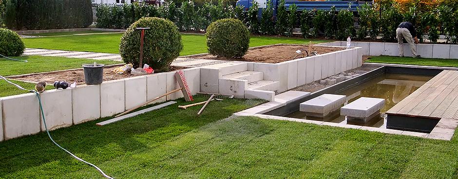 Gartenplanung nitschke formale g rten for Gartengestaltung zwei ebenen